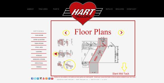 Tack Room Options Floor Plans